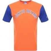 Product Image for Champion X Beams Crew Neck Logo T Shirt Orange