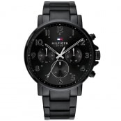 Product Image for Tommy Hilfiger Daniel Chronograph Watch Black