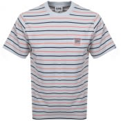Product Image for Billionaire Boys Club Stripe Pocket T Shirt Grey