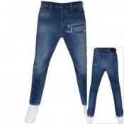 Product Image for Diesel D Vider Jeans Blue