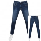 Product Image for Replay Anbass Slim Fit Jeans Blue