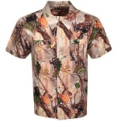 Product Image for Billionaire Boys Club Short Sleeved Shirt Brown