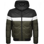 Product Image for Emporio Armani Full Zip Hooded Jacket Black