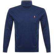 Product Image for Ralph Lauren Long Sleeved Roll Neck T Shirt Navy
