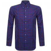 Product Image for Ralph Lauren Long Sleeved Twill Shirt Blue