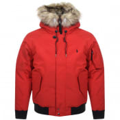 Product Image for Ralph Lauren Down Jacket Red
