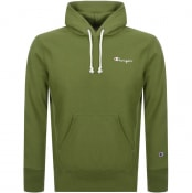 Product Image for Champion Logo Hoodie Green