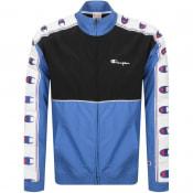 Product Image for Champion Full Zip Logo Jacket Blue