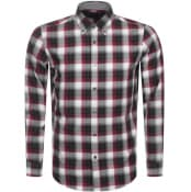 Product Image for BOSS HUGO BOSS Lod 53 Check Shirt Red