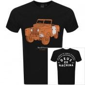 Product Image for Deus Ex Machina The Landie Logo T Shirt Black