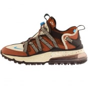 Product Image for Nike Air Max 270 Browfin Trainers Brown