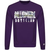 Product Image for Billionaire Boys Club Logo Sweatshirt Purple