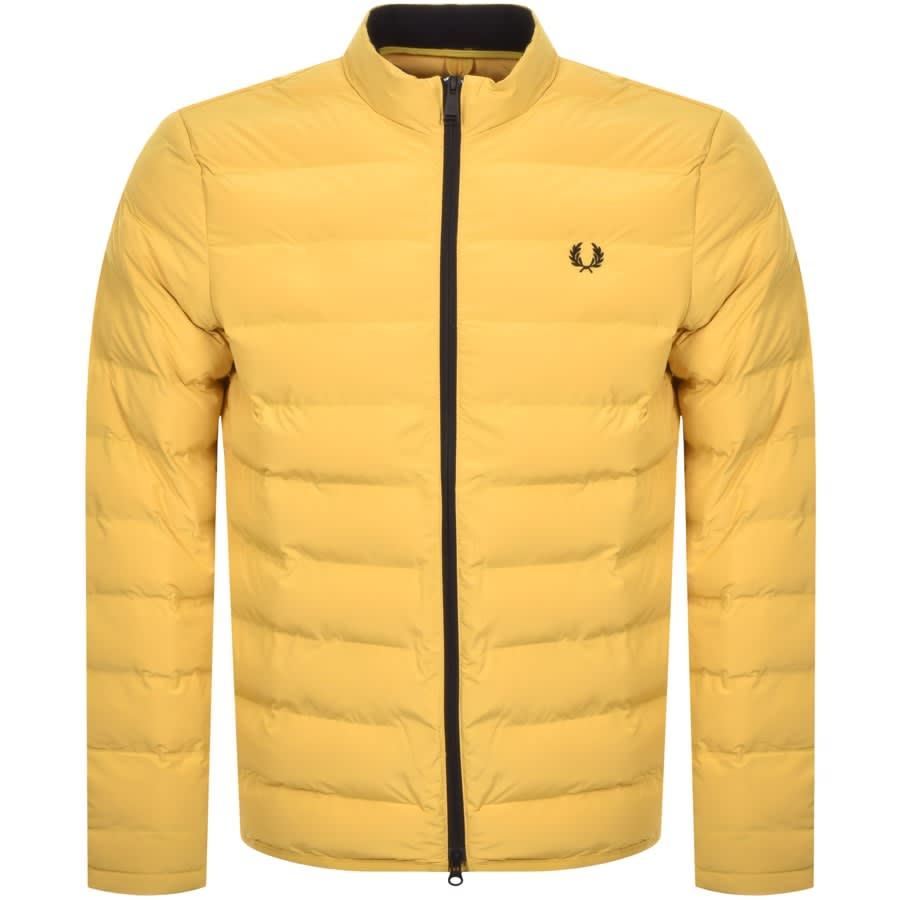 Fred Perry Insulated Padded Jacket Yellow