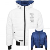Product Image for Alpha Industries Hooded Reversible Jacket Navy