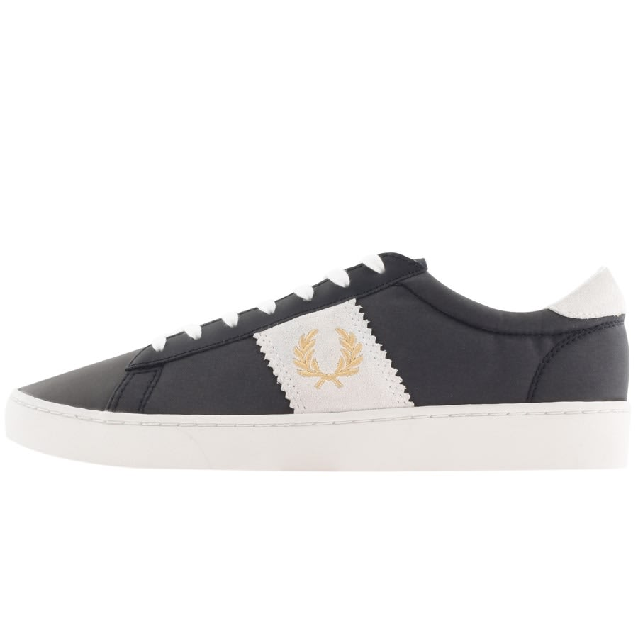 Fred Perry Spencer Poly Suede Trainers