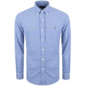 Product Image for Ralph Lauren Slim Fit Gingham Shirt Blue