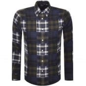 Product Image for Barbour Beacon Long Sleeve Mix Check Shirt Green