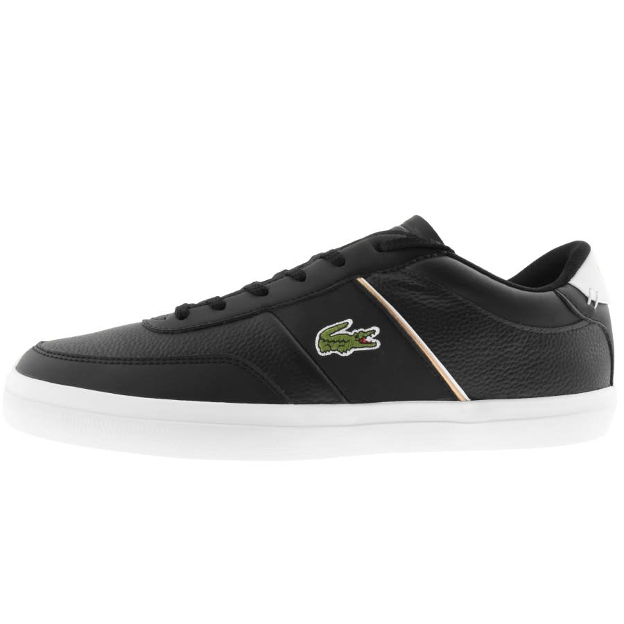 Lacoste Court Master Trainers Black