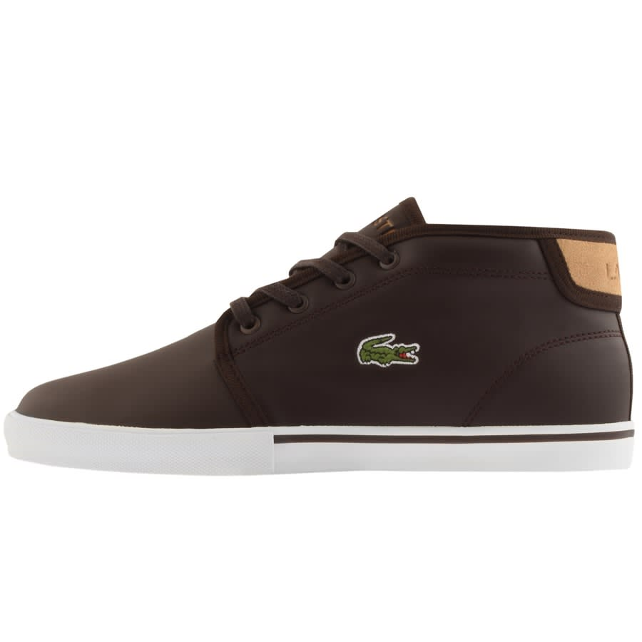 Lacoste Ampthill Mid Trainers Brown