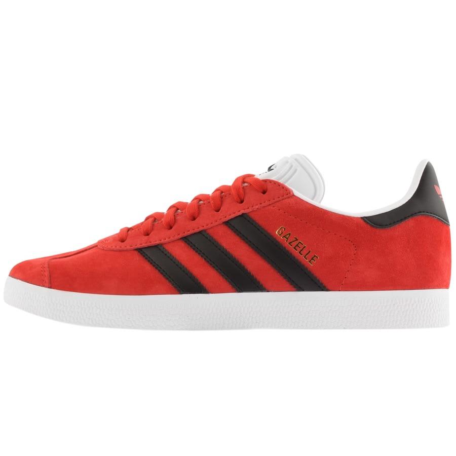 adidas Originals Gazelle Trainers Red