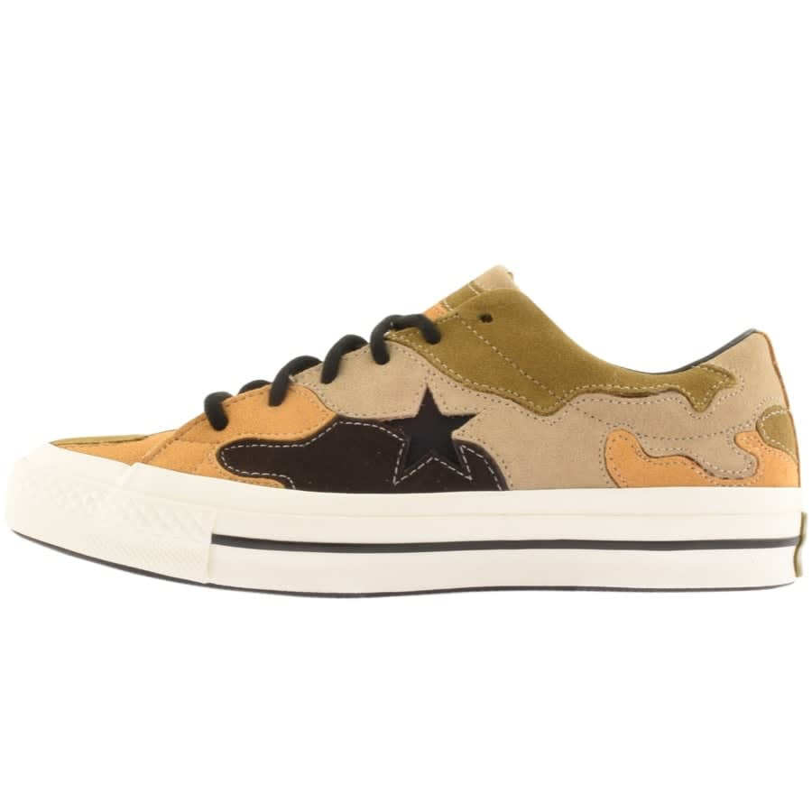 Star Suede Camouflage Trainers Black