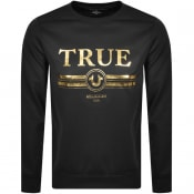 Product Image for True Religion Retro Logo Sweatshirt Black
