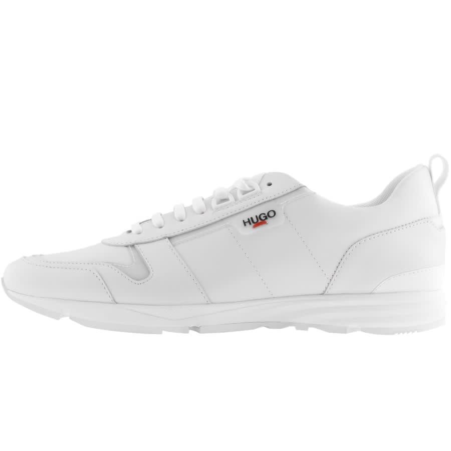 HUGO Hybrid Runn Trainers White