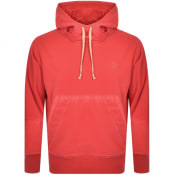 Product Image for Vivienne Westwood Garment Dye Hoodie Red