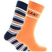 Product Image for Gant Two Pack Socks Gift Set Navy
