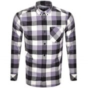 Product Image for Carhartt Keagan Checked Long Sleeved Shirt Purple