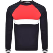 Product Image for Tommy Hilfiger Colour Block Sweatshirt Navy
