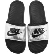 Product Image for Nike Benassi JDI Sliders Silver