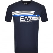 Product Image for EA7 Emporio Armani T Shirt Navy