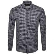 Product Image for BOSS HUGO BOSS Slim Fit Jason Shirt Navy
