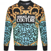 Product Image for Versace Jeans Couture Crew Neck Sweatshirt Black