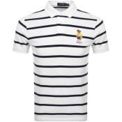 Product Image for Ralph Lauren Bear Polo T Shirt White