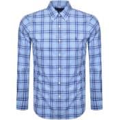 Product Image for Ralph Lauren Slim Fit Poplin Shirt Blue