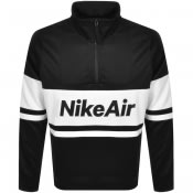 Product Image for Nike Air Half Zip Track Sweatshirt Black