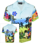 Product Image for Versace Jeans Couture Short Sleeved Shirt Blue