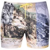Product Image for BOSS HUGO BOSS Springfish Swim Shorts Yellow