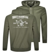 Product Image for True Religion Buddha Full Zip Hoodie Green