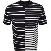 Product Image for BOSS HUGO BOSS Tames Stripe T Shirt Navy
