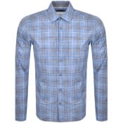 Product Image for BOSS HUGO BOSS Lukas Regular Check Shirt Blue