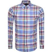 Product Image for Ralph Lauren Oxford Slim Fit Shirt Blue