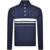 Product Image for Farah Vintage Segundo Sweatshirt Navy