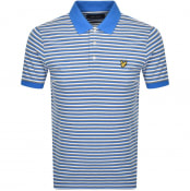 Product Image for Lyle And Scott Stripe Polo T Shirt Blue