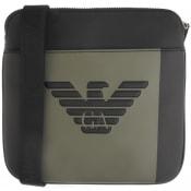 Product Image for Emporio Armani Logo Shoulder Bag Black
