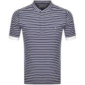 Product Image for Vivienne Westwood Pique Stripe T Shirt Navy