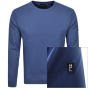 Product Image for Henri Lloyd Lake Sweatshirt Blue
