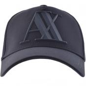 Product Image for Armani Exchange Logo Cap Navy